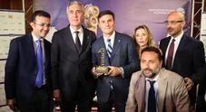 Football leader 2017 premiato Javier Zanetti Newfotosud Giacomo Di Laurenzio
