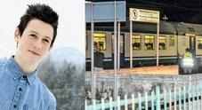 Marco Cestaro, 17 anni, e il luogo della tragedia