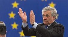 Parlamento europeo, Tajani eletto presidente
