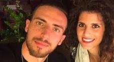 Stefano Feniello e la fidanzata Francesca