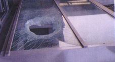 I danni al lucernaio della stazione dei treni di Cividale del Friuli