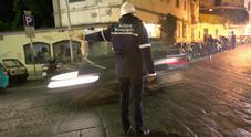 Guerra ai parcheggiatori abusivi, blitz nella movida di Chiaia