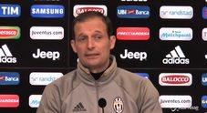 Juventus, Allegri: «A Doha sfogo normale, ci siamo fermati dopo 35 minuti»