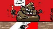 Fiorello contro Charlie Hebdo: «Vignettisti? No, pezzi di m...»