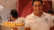 Decennale Eataly, la pizza rappresentata da Ciro Salvo