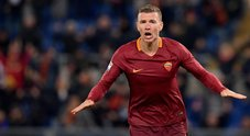 Dzeko fa volare la Roma: Cagliari battuto 1-0. La Juve resta nel mirino
