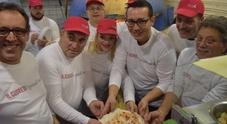 Cuore di #pizzaunesco al Vomero pizze per i senzatetto
