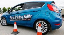 Ford, al Driving Skills for Life 400 neopatentati a Roma per corsi guida responsabile