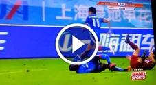 Infortunio choc per Demba Ba: il ginocchio dell'attaccante ex Chelsea e Newcastle fa crac