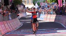 Giro d'Italia: la Moena-Ortisei