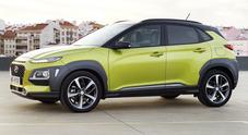 """Hyundai Kona, il Suv compatto e """"corazzato"""""""
