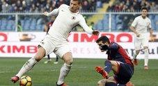 Genoa-Roma: le foto della partita