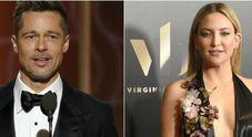 Brad Pitt e Kate Hudson storia confermata anche da un amico