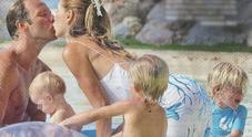 Veronica Maya e Marco, matrimonio e viaggio di nozze esotico con i figli