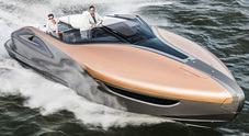 Sport Yacht, la barca premium di Lexus