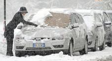 La nuova Macerata-Foligno chiusa per neve, divieto per i tir sul vecchio tracciato