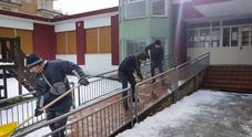 Viabilità in tilt e scuole chiuse torna a nevicare in Irpinia