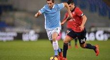 Lazio-Genoa: le foto della partita