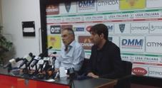 immagine Lecce calcio, prima conferenza stampa di Piero Braglia