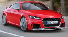Audi TT RS ancora più estrema: cinque cilindri per un'iniezione di potenza da 400 cv