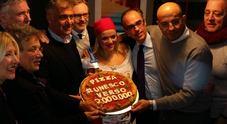 Due milioni di firme per PizzaUnesco Pizzaioli solidali con i senzatetto