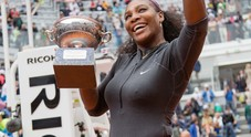 Serena vince gli Ibi16 contro Keys: la premiazione (foto Fracassi/Ag.Toiati)
