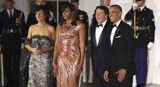 Agnese Renzi e Michelle Obama, battaglia di stile a colpi di eleganza