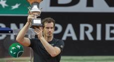 Ibi16, la premiazione di Andy Murray (Foto Paolo Rizzo - Toiati)