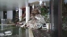 L'hotel di Rigopiano sepolto dalla valanga