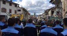 immagine Lazio, la squadra in visita ad Amatrice
