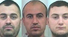 I 3 ladri albanesi bloccati dai carabinieri di Lignano e Latisana