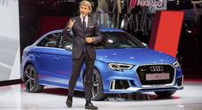 Winkelmann: «Otto nuove RS nei prossimi 18 mesi di Audi Sport»