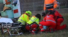 I soccorsi del personale medico e infermieristico del 118 di Udine