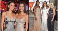 """Nella foto Naomi Campbell in passerella all'evento benefico """"Fashion for Relief"""" di Cannes"""