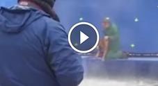 Il video della scena incriminata