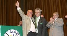 Giancarlo Gentilini con Umberto Bossi