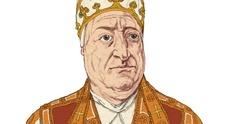 Pietro Barbo, papa Paolo II, veneziano, in una illustrazione di Matteo Bergamelli
