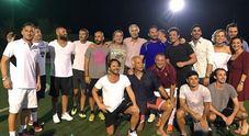 Totti, sport alle Maldive
