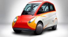 Shell Project M, dalla matita di Gordon Murray la microcittadina da 38 km al litro