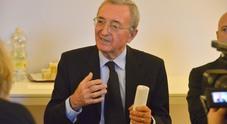 Il presidente Massimo Lanza