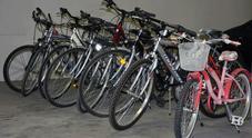 biciclette rubate, archivio
