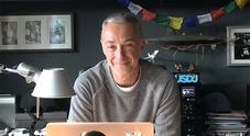 Linus in una foto del suo blog