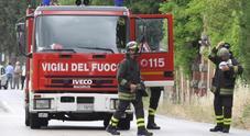 Auto in fiamme, è giallo Forse è stata utilizzata una bottiglia incendiaria