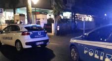 Il ristorante Ichiban poco dopo il furto