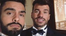 Trono gay, Claudio Sona e Mario Serpa sposi in abito da cerimonia. Pronti per il sì?