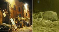 Terremoto, tre scosse nel centro Italia: crolli e paura