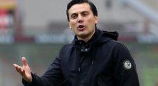 Montella: «Le nostre ambizioni sono cresciute. Con il Napoli sfida di altissimo livello»