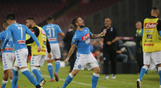 Mertens e Chiriches stendono 2-0 l'Empoli: Napoli in ripresa
