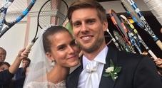Andreas Seppi sposo: a Ortisei le nozze con Michela