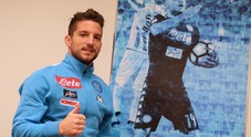 Calcio Napoli intervista Dries Mertens (Newfotosud Giacomo Di Laurenzio)